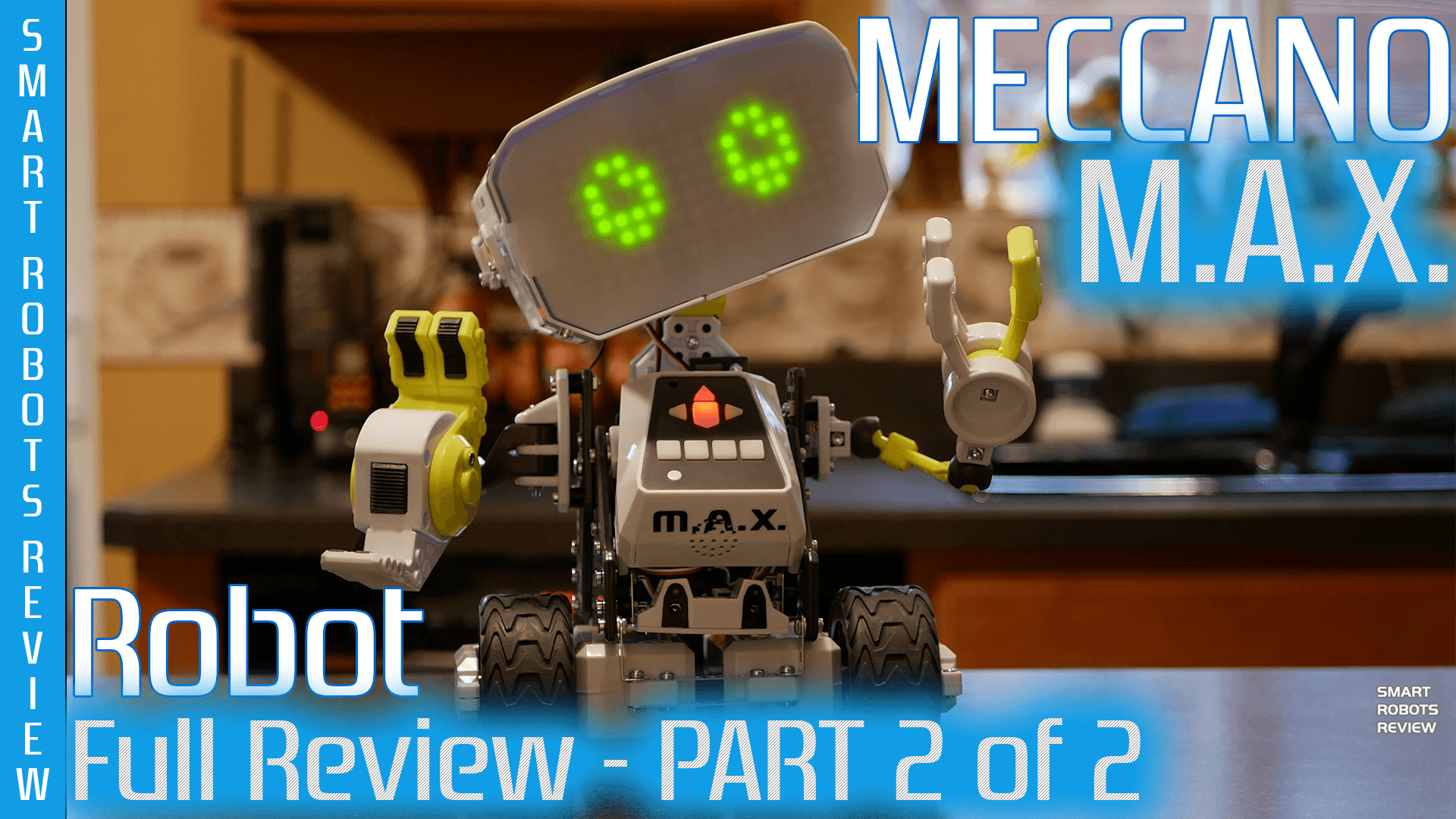 Spinmaster Smart Robots Review Relays Electronics In Meccano Max Full Part 2 Of Stem