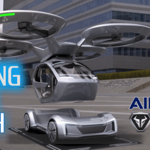 Flying Cars Tech by ITALDESIGN Audi and Airbus – Pop Up Next – Smart Robots Review
